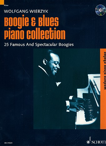 Boogie und Blues Piano Collection (+CD): for piano