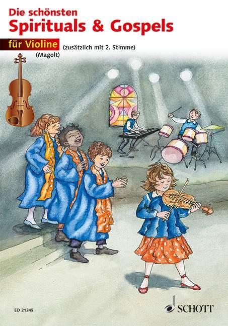 Die schönsten Spirituals & Gospels: für 1-2 Violinen