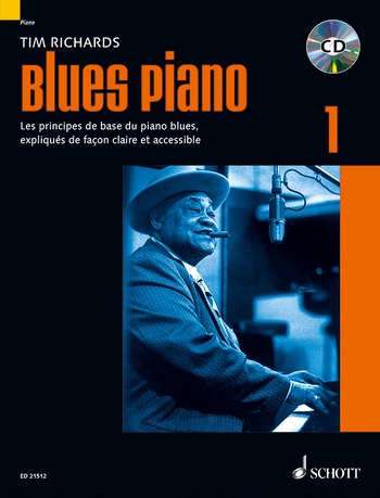 Blues Piano vol.1 (+CD): pour piano (frz)