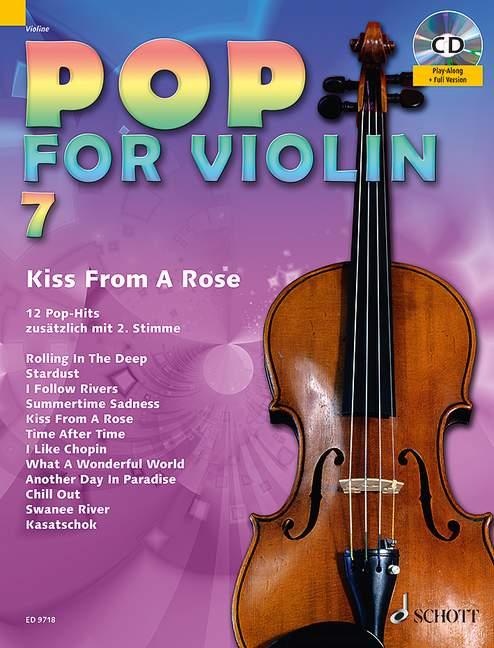 - Pop for Violin vol.7 (+CD) :