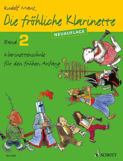 Die fröhliche Klarinette Band 2 - Schule