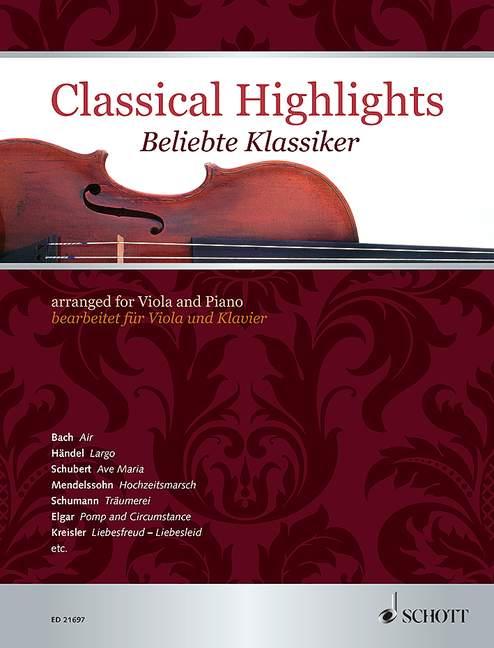 - Beliebte Klassiker : für Viola und Klavier