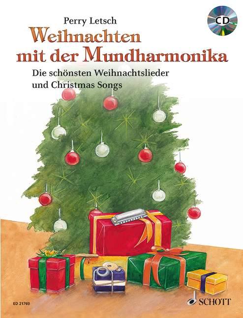 - Weihnachten mit der Mundharmonika (+CD) :