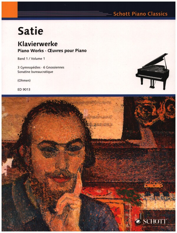 Satie, Erik - Gymnopedies : für Klavier