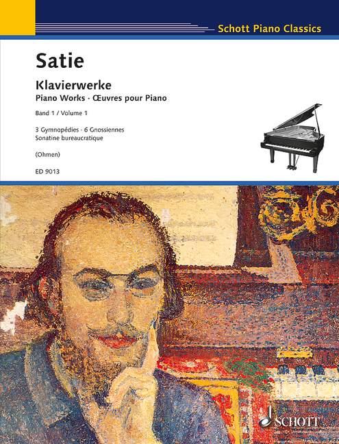 Satie, Erik - Gymnopedies : für Klavier