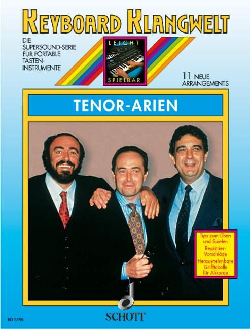 - Tenor-Arien : 11 neue Arrangements für Keyboard