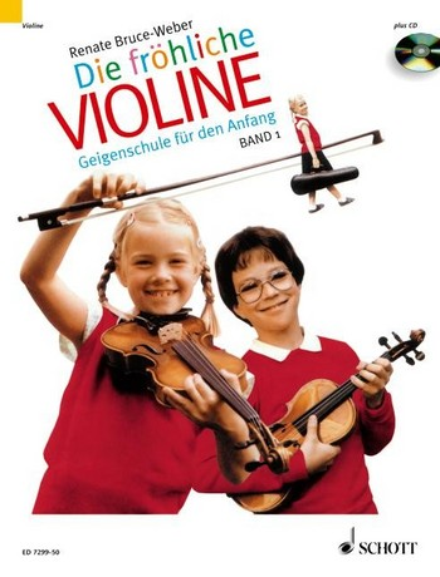 Die fröhliche Violine Band 1 (+CD) Geigenschule für den Anfang