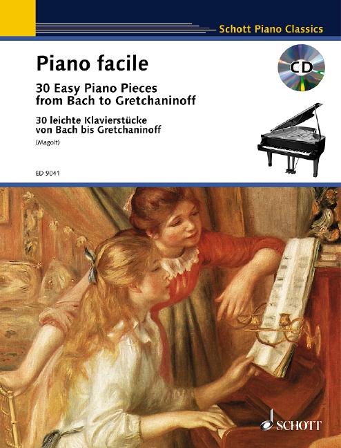 - Piano Facile (+CD) : pour piano