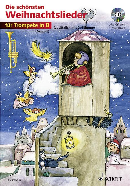 - Die schönsten Weihnachtslieder (+CD) :