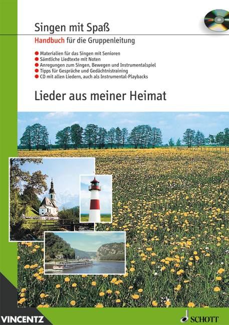- Lieder aus meiner Heimat (+CD) :