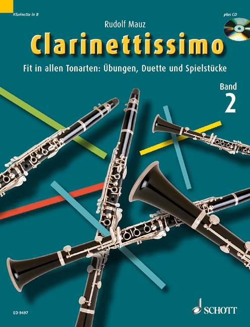 Clarinettissimo Band 2 (+CD): Fit in allen Tonarten