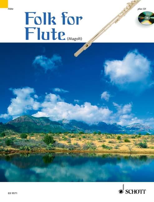 Folk for Flute (+CD): mit 2. Stimme