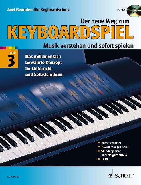 Der neue Weg zum Keyboardspiel Band 3 (+CD)