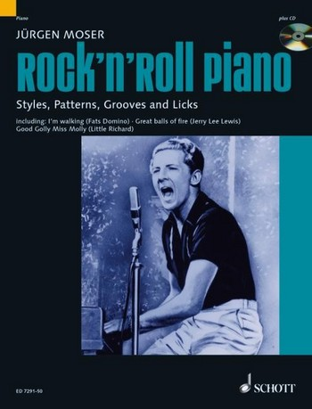 Moser, Jürgen - Rock'n'Roll Piano (+CD) :