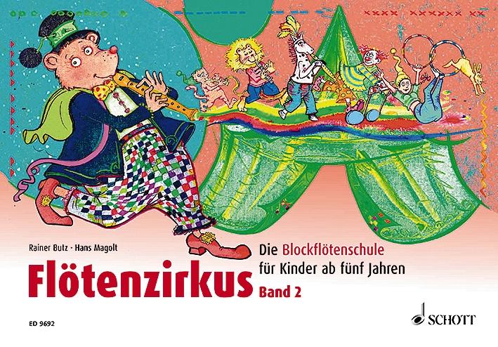 Butz, Rainer - Flötenzirkus Band 2 :