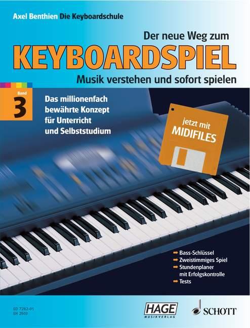 Der neue Weg zum Keyboardspiel Band 3 (+ Midi-Disk)