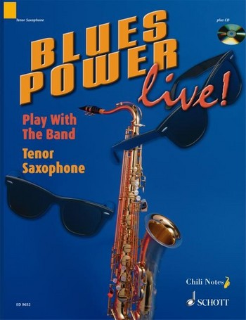 Blues Power Live (+CD): for tenor saxophone
