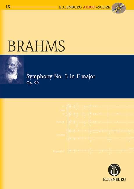 Brahms, Johannes - Sinfonie F-Dur Nr.3 op.90 (+CD) :