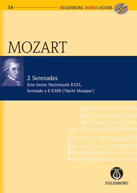 2 Serenaden (+CD): für Orchester Studienpartitur