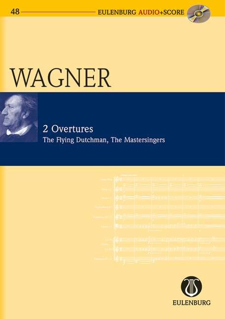 2 Ouvertüren (+CD): für Orchester Studienpartitur