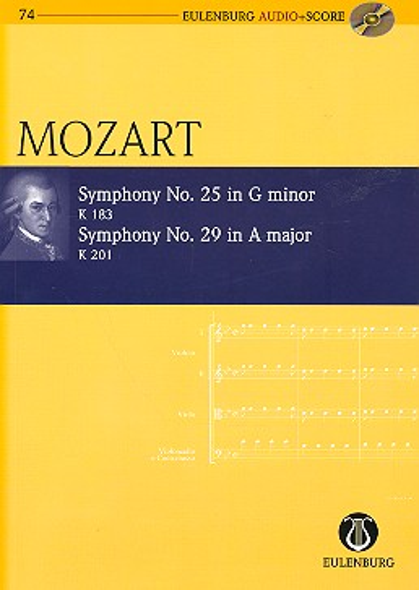 2 Sinfonien (+CD): für Orchester Studienpartitur