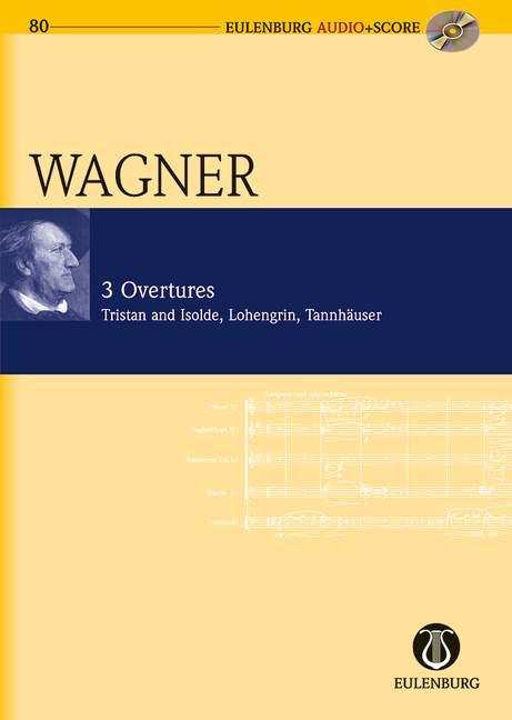 3 Ouvertüren (+CD): für Orchester Studienpartitur