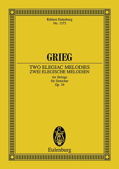 2 elegische Melodien opus.34: für Streicher