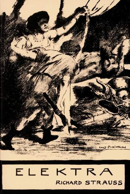 Strauss, Richard - Elektra op.58 : Libretto (dt)
