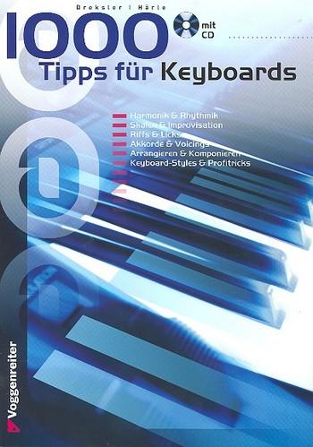 1000 Tips (+CD): für Keyboard