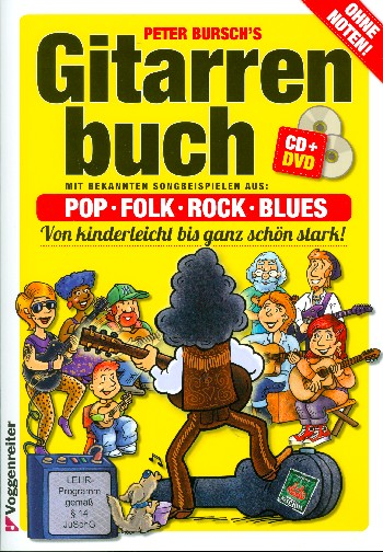 Gitarrenbuch Band 1 (+DVD +CD)  Neuausgabe 2015 - Coverbild-Thumbnail