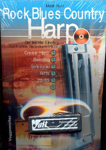 Rost, Martin - Rock blues Country Harp Set :