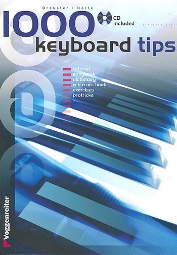 1000 Keyboard Tipps (englisch): Chords Rhythms Riffs Licks Scales