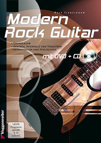 Fiebelkorn, Ralf - Modern Rock Guitar (+DVD+CD) :