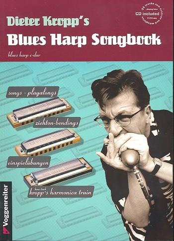 Blues Harp Songbook (+CD): Schule für Mundharmonika