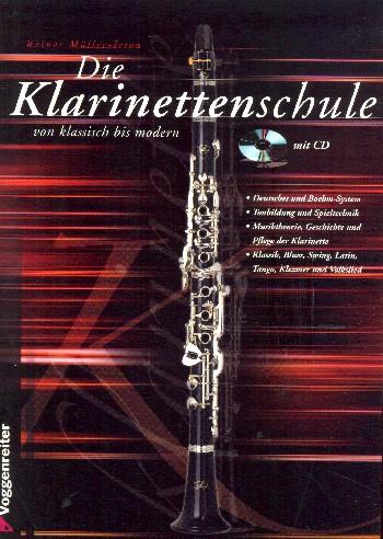 Die Klarinettenschule von klassisch bis modern (+CD)
