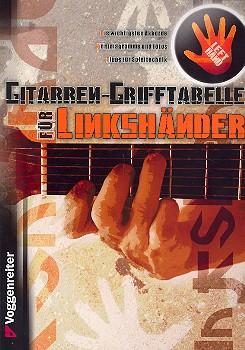 Opgenoorth, Norbert - Grifftabelle für Linkshänder : für Gitarre