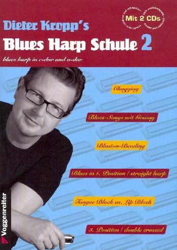 Blues Harp Schule Band 2: für Mundharmonika