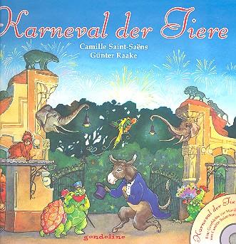 Raake, Günter - Karneval der Tiere (+CD) :