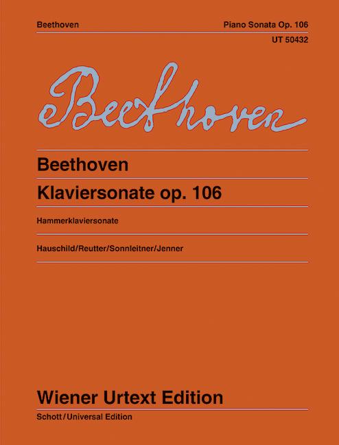 UT50432 Sonate op.106 : - Vollanzeige.