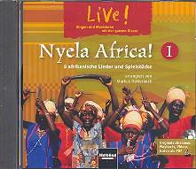 - Live Nyela Africa Vol.1 : CD mit Originalaufnahmen,