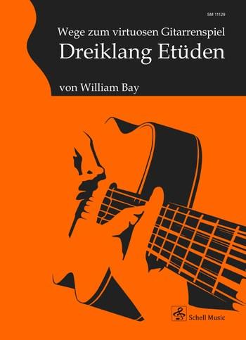 Dreiklang-Etüden: für Gitarre