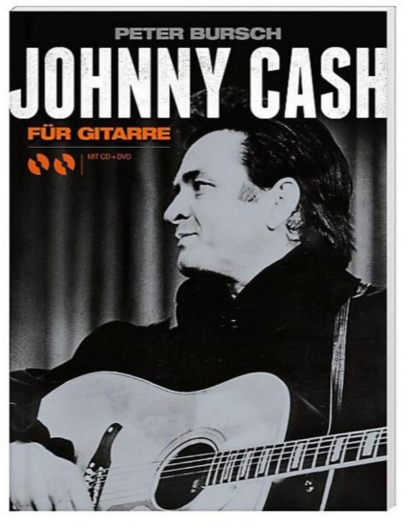 - Johnny Cash (+CD +DVD) : für Gitarre in