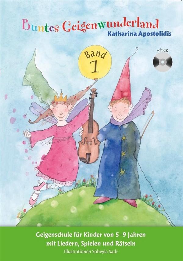 Buntes Geigenwunderland Band 1 (+CD) für Violine