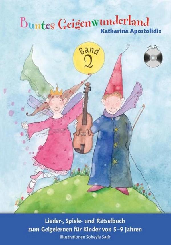 Buntes Geigenwunderland Band 2 (+CD): für Violine