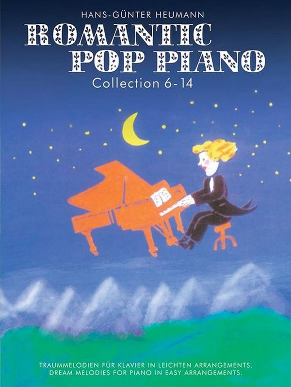 Best of Romantic Pop Piano Collection 6-14