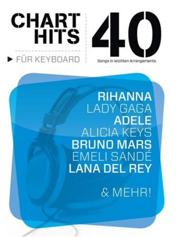 40 Chart-Hits: für Keyboard
