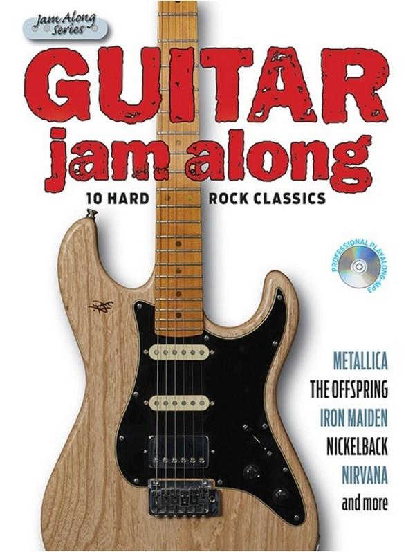 Guitar Jam along - 10 Hard Rock Classics (+CD): for guitar