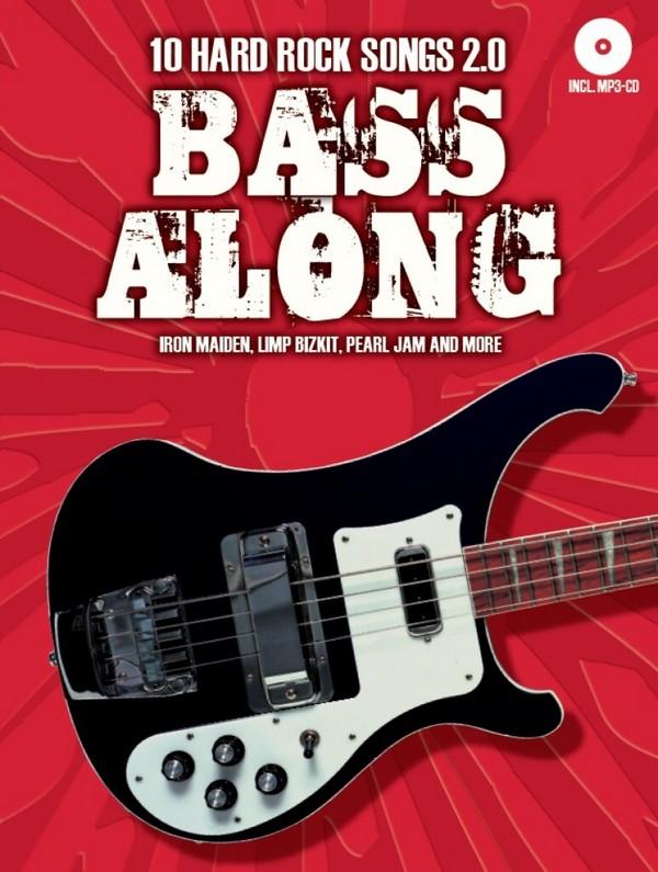 Bass along Band 5 - 10 Hard Rock Songs 2.0 (+MP3-CD): für E-Bass/Tabulatur