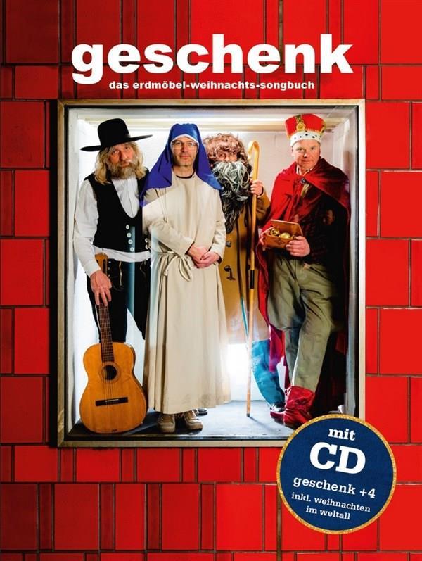 Geschenk: Das Erdmöbel-Weihnachts-Songbuch (+CD) Songbuch Melodie/Texte/Akkorde