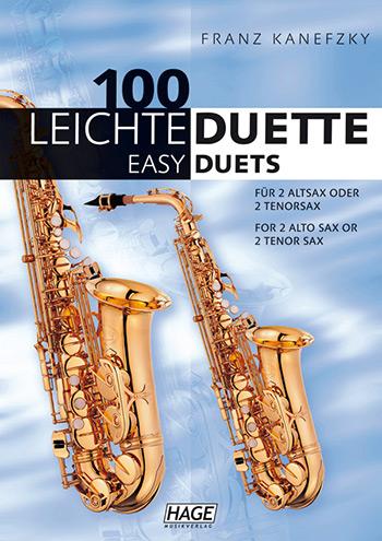 100 leichte Duette: für 2 Altsaxophone